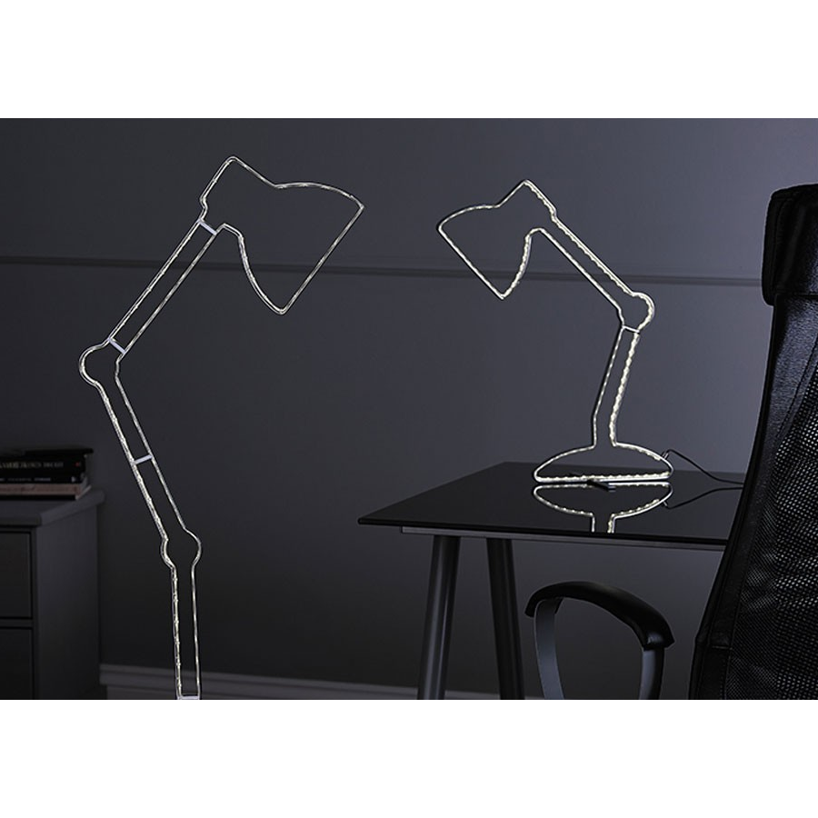 "*CLEARANCE* Endon ""Illusion""LED Table Lamp Silhouette / Outline Design LED., [product_variation] - Freedom Homestore"