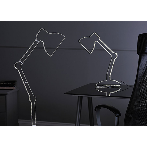 "*CLEARANCE* Endon ""Illusion""LED Table Lamp Silhouette / Outline Design LED."