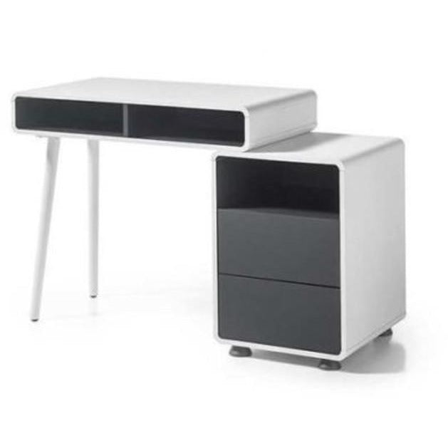"MCA ""Aron"" Modern / Retro PC Desk Computer Table With Storage, [product_variation] - Freedom Homestore"