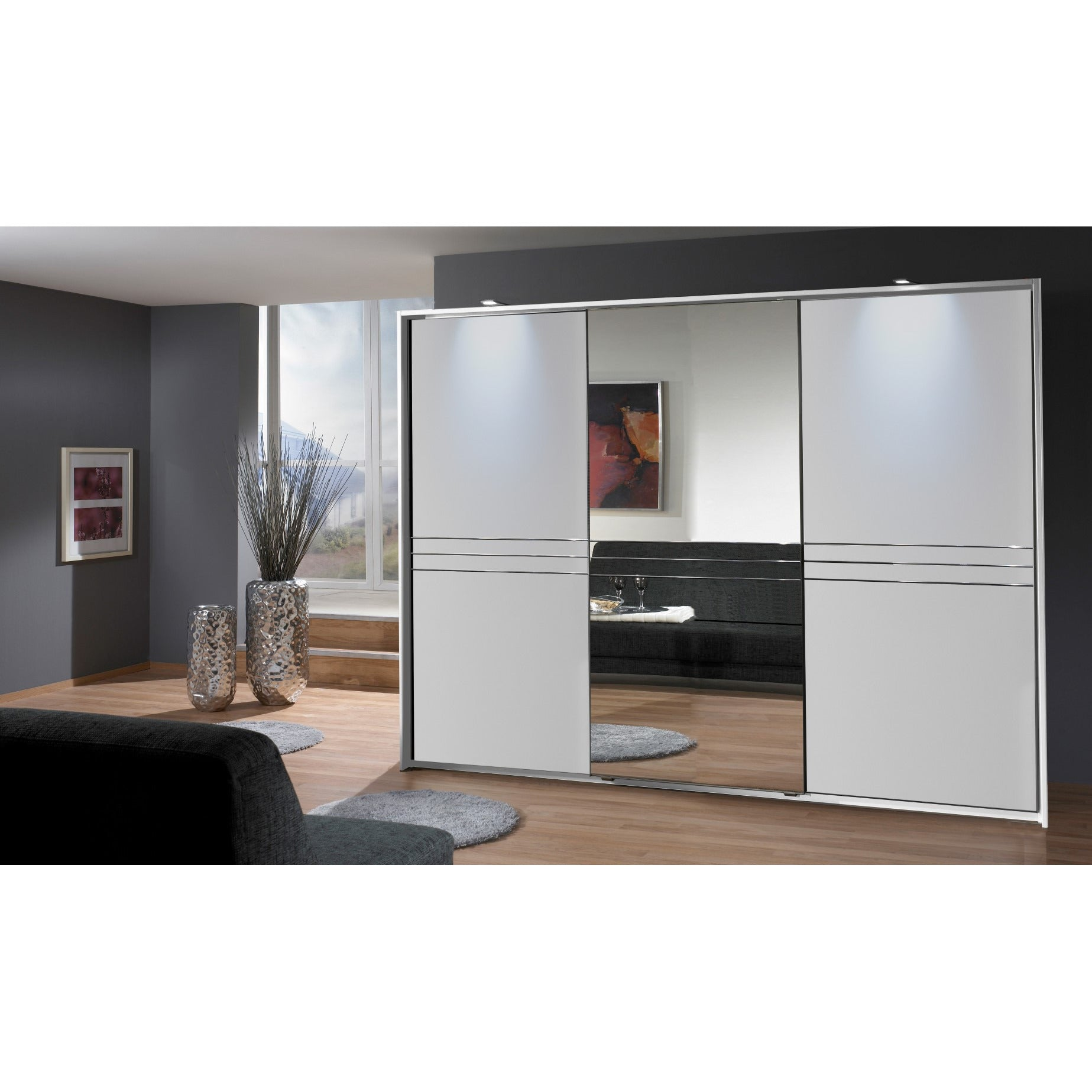 Qmax Medway German Made Bedroom Furniture  White Finish