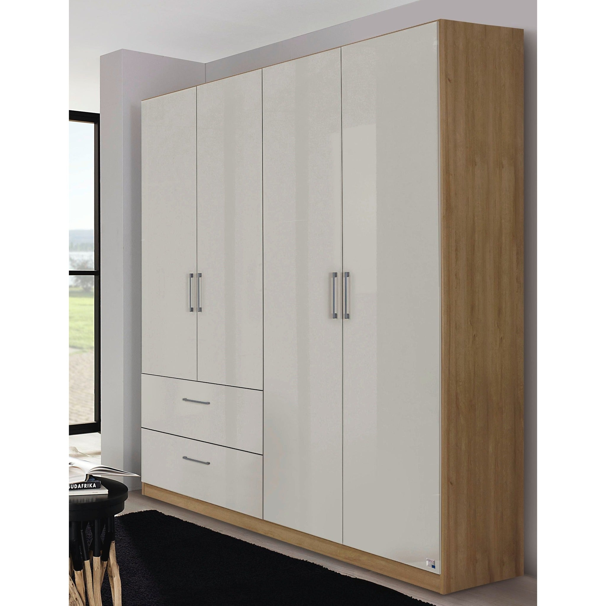 sandringham door grey pine wardrobe a drawer products