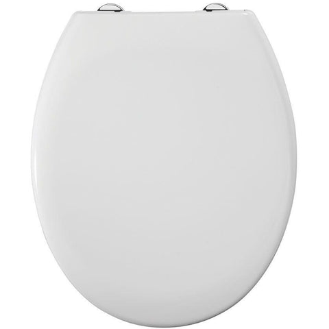 "Roper Rhodes ""Neutron"" White Soft Close Thermoset Plastic Toilet Seat."