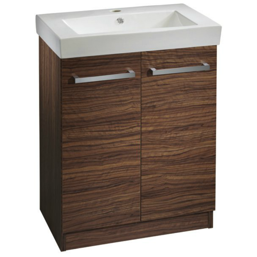 *Clearance* Roper Rhodes 'Ninety' Floor Standing Vanity & Sink in Dark Olive, [product_variation] - Freedom Homestore