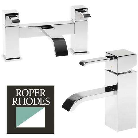"Roper Rhodes ""Paradox"" Bathroom Tap Range. Basin Sink Mixer. Bath Mixer, [product_variation] - Freedom Homestore"