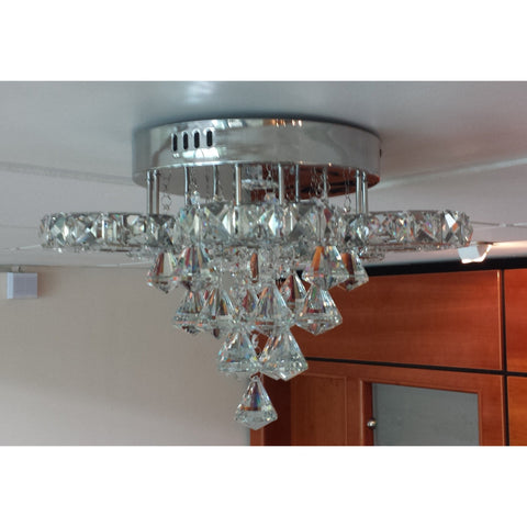 "Marco Tielle ""Hannah Hybrid"" Crystal LED Ceiling Light Chandelier MT8596, [product_variation] - Freedom Homestore"