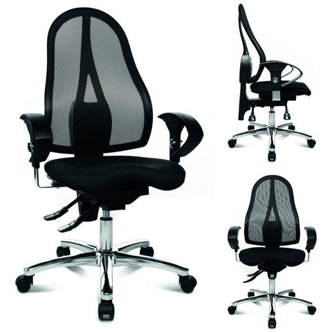 TopStar Premium Office Chair - Sitness 10 & 15, Gas Lift, Mesh or Padded Back