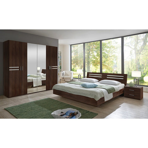 Qmax 'Suzie' Range. German Made Bedroom Furniture. Walnut Finish., [product_variation] - Freedom Homestore