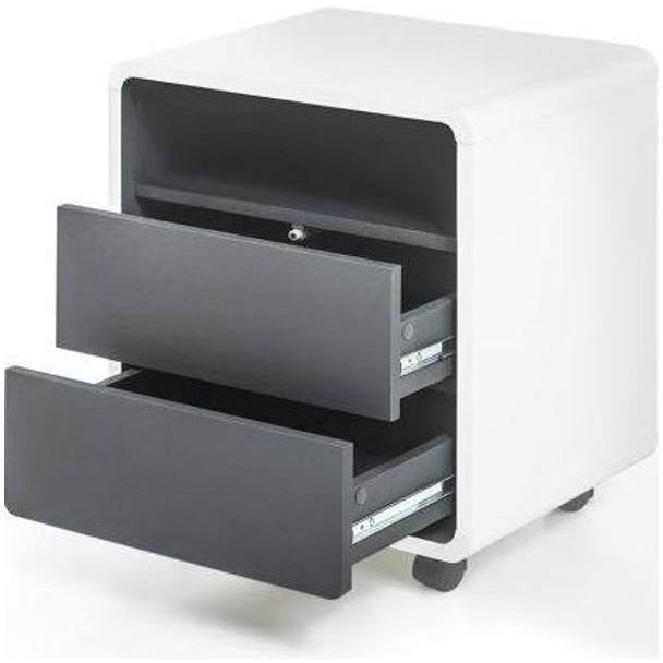"MCA ""Tadeo"" Under-Desk Cabinet / Drawers. Modern PC"