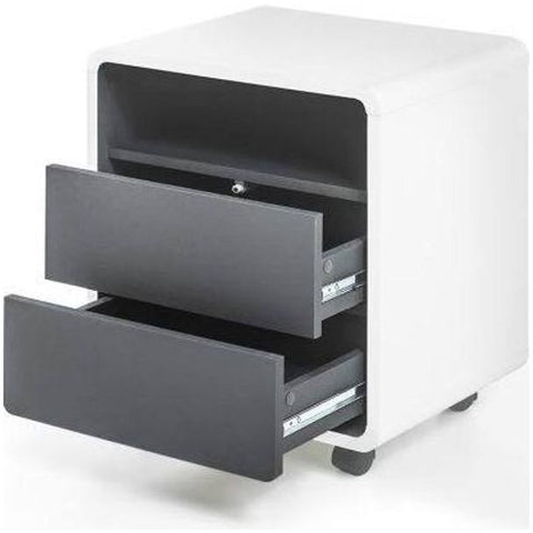 "MCA ""Tadeo"" Under-Desk Cabinet / Drawers. Modern PC Computer Furniture Storage."