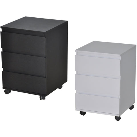 Under-Desk File Cabinet Drawer Chest. Matt Finish. 3-Drawer. Zi-Line, at Freedom Homestore