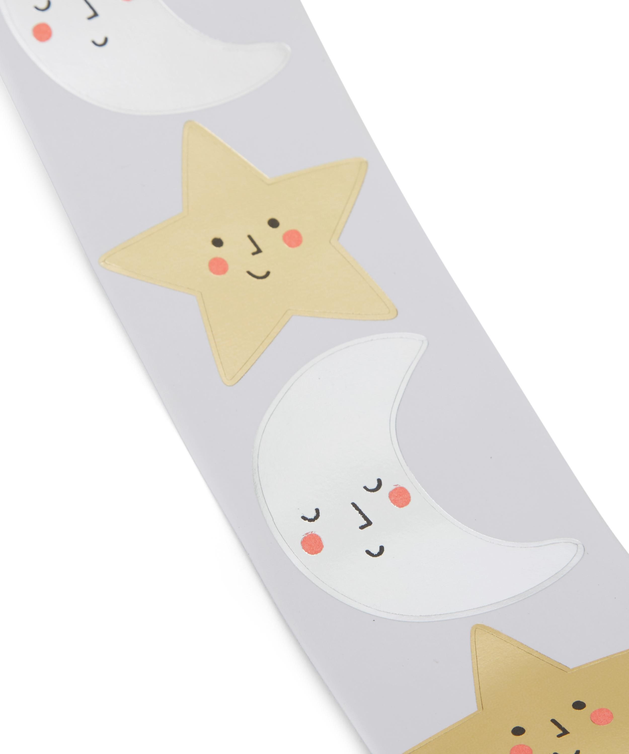 Meri Meri Happy Star & Moon Stickers on DLK | designlifekidscom