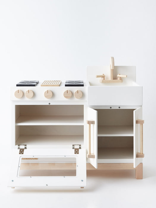 Milton & Goose Essential Play Kitchen on DLK | designlifekids.com