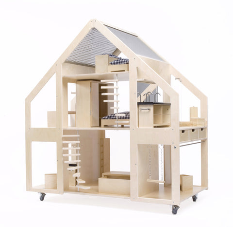 DollsVilla Modern Large Dollhouse on DLK