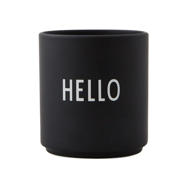 Design Letters Black Hello Favorite Cup on Design Life Kids