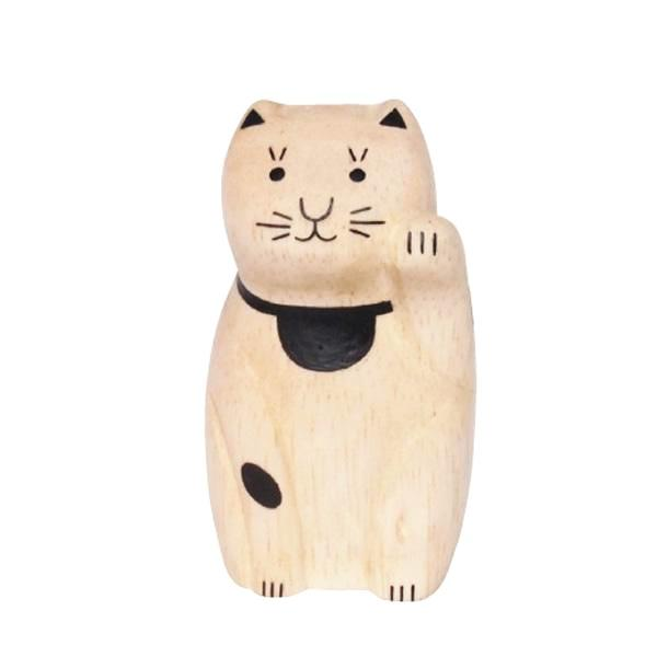 T-Lab Engimon Wooden Beckoning Cat on DLK | designlifekids.com