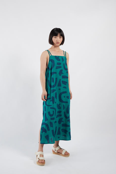 Bobo Choses Womens Abstract Tank Dress on Design Life Kids