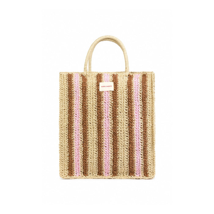 Bobo Choses Striped Tote Bag at Design Life Kids
