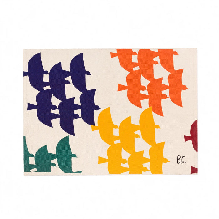 Bobo Choses Flying Birds Rug at Design Life Kids