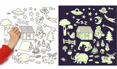 OMY Glow in the Dark Wall Stickers on DLK