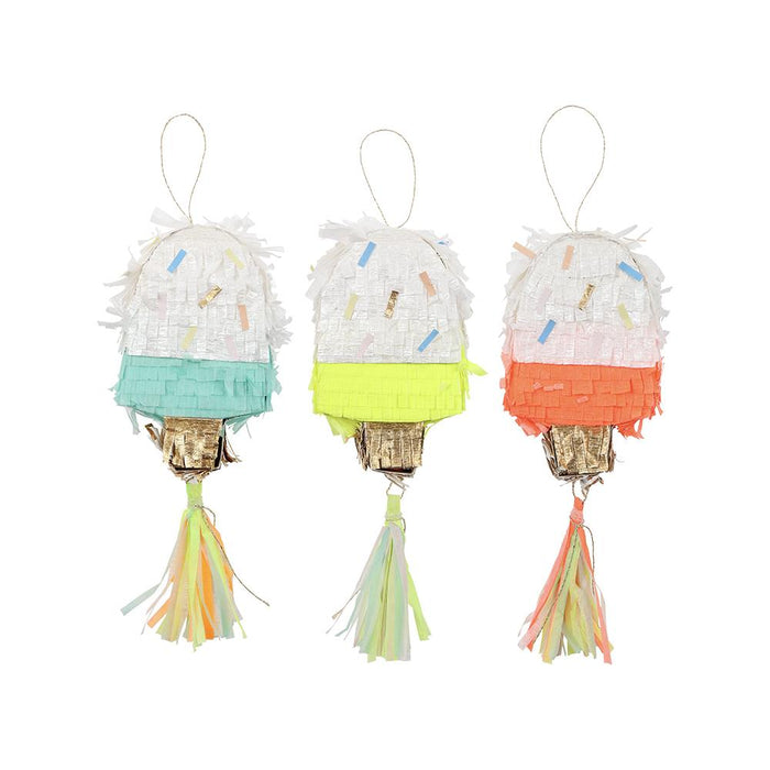 Meri Meri Ice Cream Piñata Party Favors on DLK | designlifekids.com