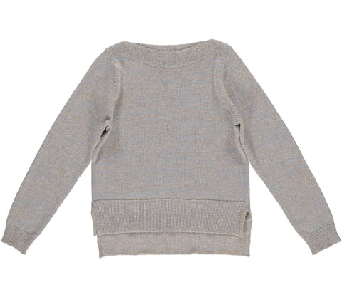 MarMar Copenhagen Telsa Gold Slub Sweater on DLK