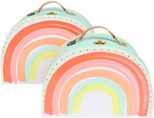 Meri Meri Rainbow Suitcase Set on DLK | designlifekids.com