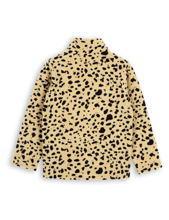 Mini Rodini Fleece Spot Jacket on DLK | designlifekids.com