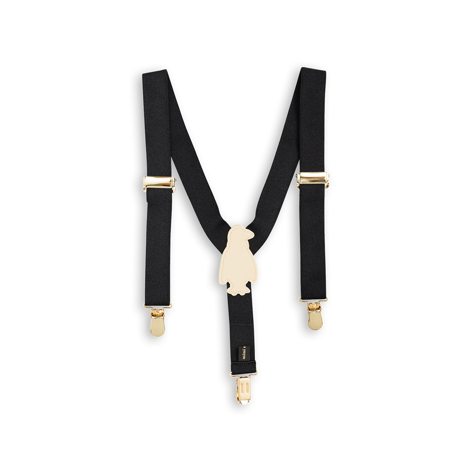 Mini Rodini Penguin Braces Suspenders on DLK | designlifekids.com