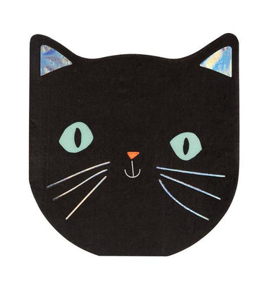 Meri Meri Spooky Cat Party Napkins on DLK