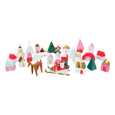 Meri Meri 3D Advent Village Calendar on DLK