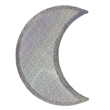 Meri Meri Silver Sparkle Moon Party Plate on DLK | designlifekids.com