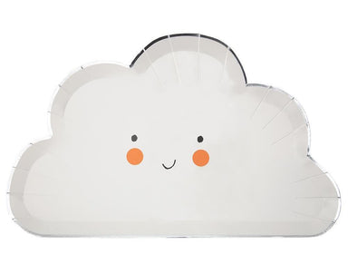 Meri Meri Happy Cloud Shaped Party Plate on DLK | designlifekids.com