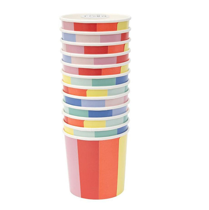 Meri Meri Color Wheel Party Cups on DLK | designlifekids.com