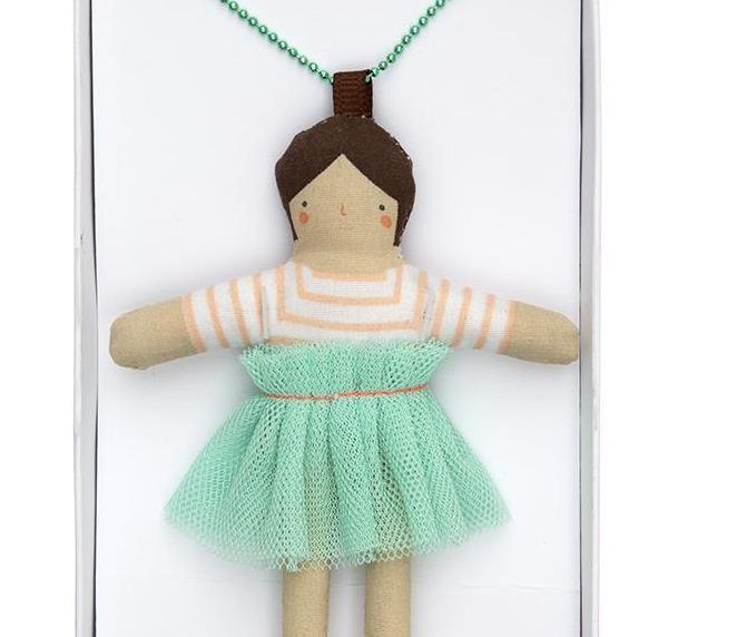 Meri Meri Doll Necklace on DLK | designlifekids.com