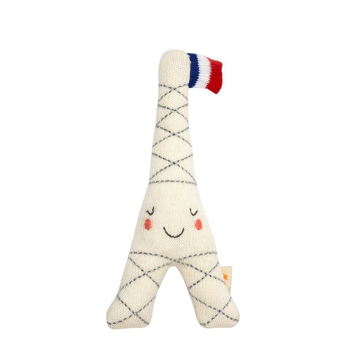 Meri Meri Eiffel Tower Baby Rattle on DLK | designlifekids.com