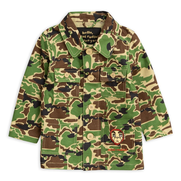 Mini Rodini Safari Jacket on DLK | designlifekids.com