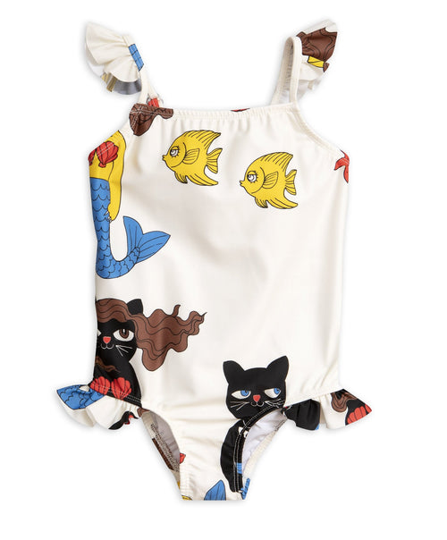 Cat Mermaid Wing Swimsuit