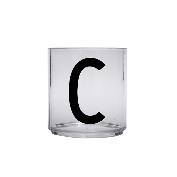Design Letters C Personal Drinking Glass on Design Life Kids