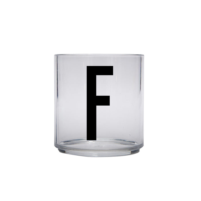 Design Letters F Personal Drinking Glass on Design Life Kids