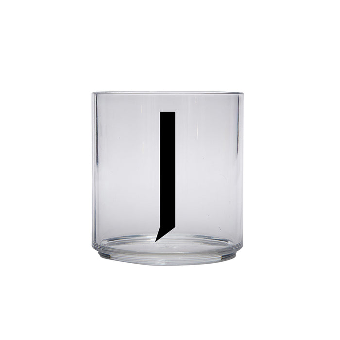 Design Letters J Personal Drinking Glass on Design Life Kids