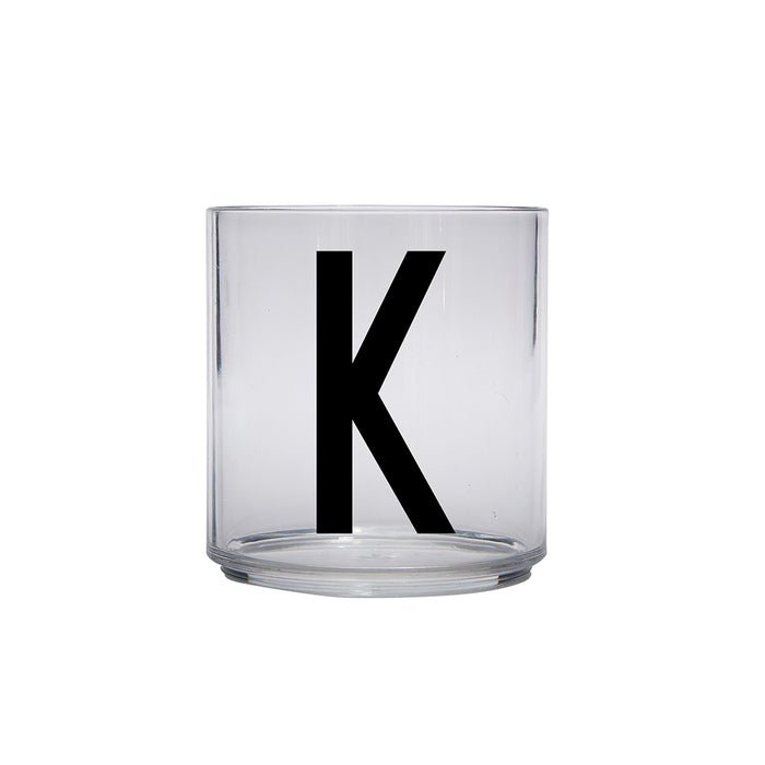 Design Letters K Personal Drinking Glass on Design Life Kids