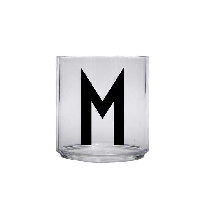 Design Letters M Personal Drinking Glass on Design Life Kids