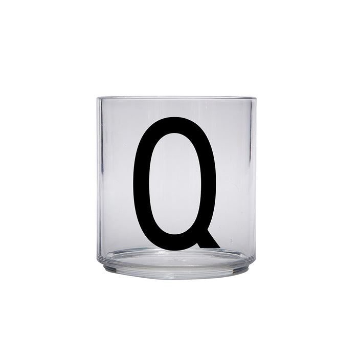 Design Letters Q Personal Drinking Glass on Design Life Kids