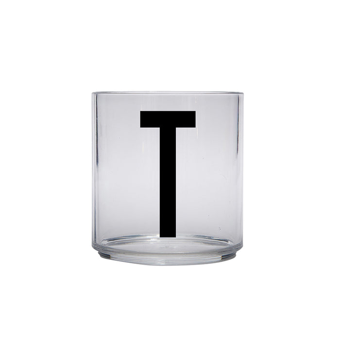 Design Letters T Personal Drinking Glass on Design Life Kids