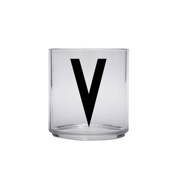 Design Letters V Personal Drinking Glass on Design Life Kids
