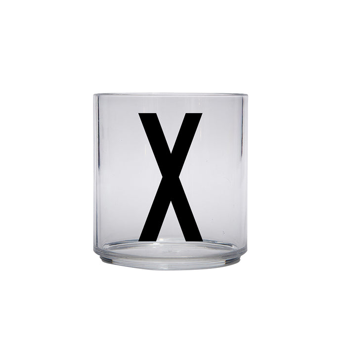 Design Letters X Personal Drinking Glass on Design Life Kids