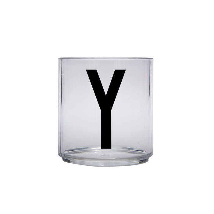 Design Letters Y Personal Drinking Glass on Design Life Kids