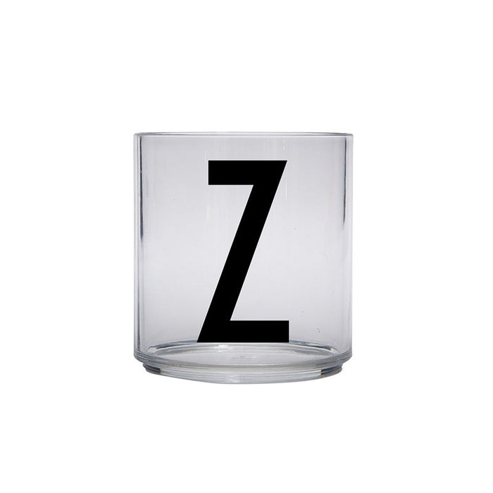 Design Letters Z Personal Drinking Glass on Design Life Kids