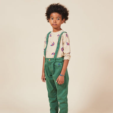 Bobo Choses Boy Patch Braces Pant on Design Life Kids