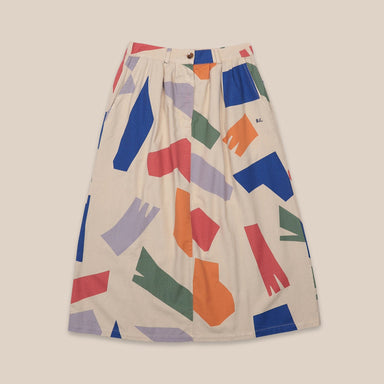 Bobo Choses Shadows Woven Skirt on Design Life Kids